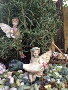 Fairies of The Rosemary Garden - Boy and Girl Fairy