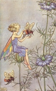 Fairy and Bee - Molly Brett