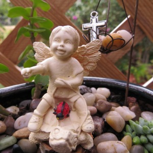 Angel of Turtle with Ladybug and Treasure1